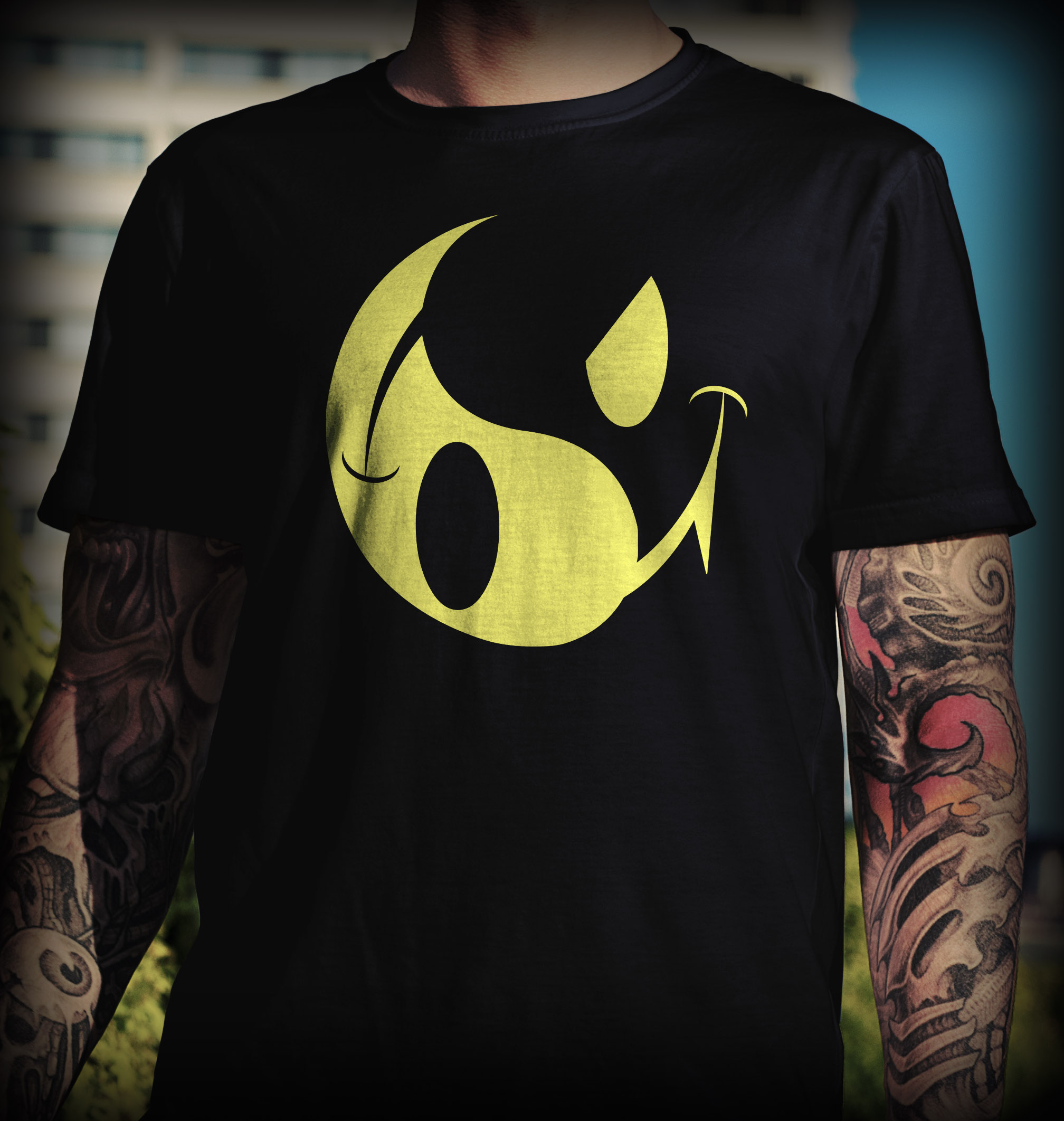 Design t shirts hoodies - T Shirt And Hoodies Acid Techno Design Smiley Yin Yang Acidtekno Com